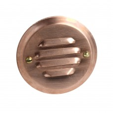 1W Recessed Deck Light Raw Copper