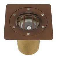 Grill & Square Trim Options for CBWL Fixtures