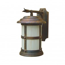 Scroll Mount Natural Copper