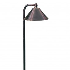 "LED Walkway Light 5 5/8"" Matte Bronze"