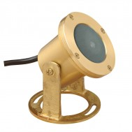 LED Brass Underwater Light