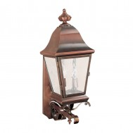 Heavy Scroll Mount Lantern