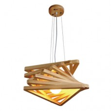 Wood Pendant Light WZL021