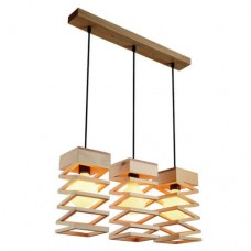 Wood Pendant Light WZL026