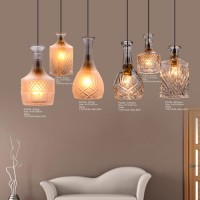 Glass Pendant Light PG206(Clear,Fog)