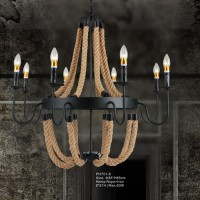 Hemp Rope pendant light PH701-8/PH701-6