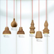 Wood Pendant Light PW109-PW114