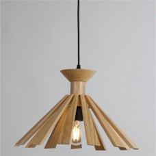 Wood Pendant Light WZL037B