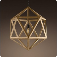 Wood Pendant Light WZL007